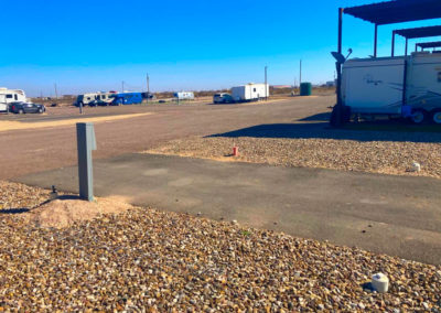 Odessa RV Park Paved Drives and Spots